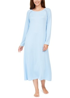 Charter Club Embroidered Trim Nightgown, Created for Macy's