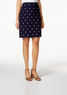 Charter Club Embroidered Skort, Only at Macy's