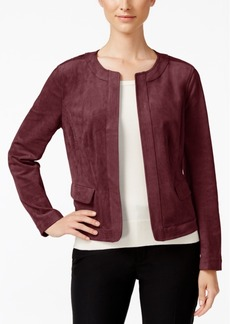 Charter Club Faux-Suede Jacket, Only at Macy's