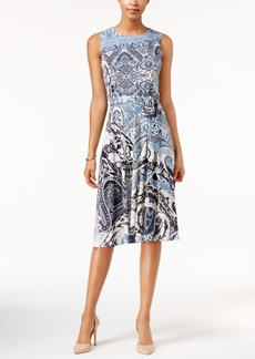 Charter Club Petite Printed Midi Dress, Only at Macy's