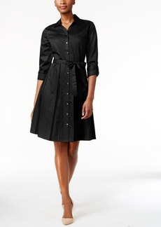 Charter Club Fit & Flare Shirt Dress, Only at Macy's