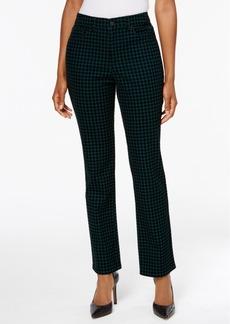 Charter Club Flocked Lexington Straight-Leg Jeans, Created for Macy's