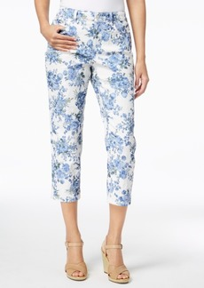 Charter Club Bristol Floral-Print Capri Pants, Created for Macy's