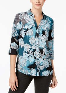 Charter Club Two-Pocket Blouse, Created for Macy's