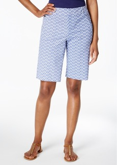 Charter Club Printed Twill Shorts, Only at Macy's
