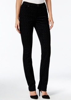 Charter Club Lexington Printed Corduroy Straight-Leg Pants, Only at Macy's