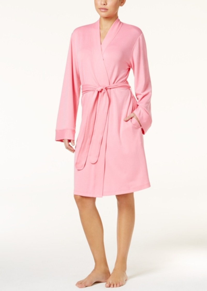 Charter Club French Terry Wrap Robe, Only at Macy's