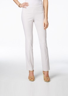 Charter Club Geo-Print Pull-On Pants, Only at Macy's
