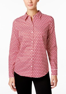 Charter Club Geo-Print Shirt, Only at Macy's