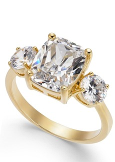 Charter Club Gold-Tone Crystal Statement Ring, Created for Macy's