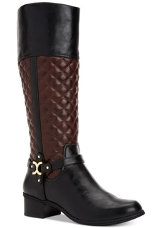 Charter Club Helenn Wide-Calf Riding Boots, Created for Macy's Women's Shoes