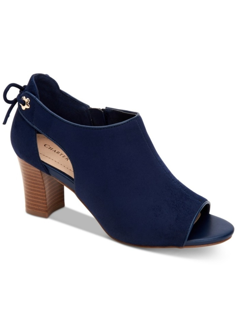 Charter Club Hirah Tie-Back Peep-Toe Heels, Created for Macy's Women's Shoes