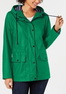 Charter Club Hooded Raincoat, Created for Macy's