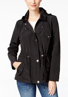 Charter Club Hooded Utility Jacket, Only at Macy's