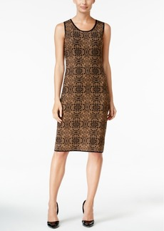 Charter Club Jacquard Shift Dress, Only at Macy's
