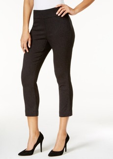 Charter Club Jacquard Tummy-Control Capri Pants, Only at Macy's