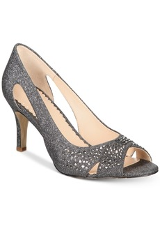 Charter Club Joeel Peep-Toe Pumps, Created for Macy's Women's Shoes