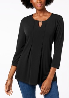 Charter Club Keyhole Top, Created for Macy's