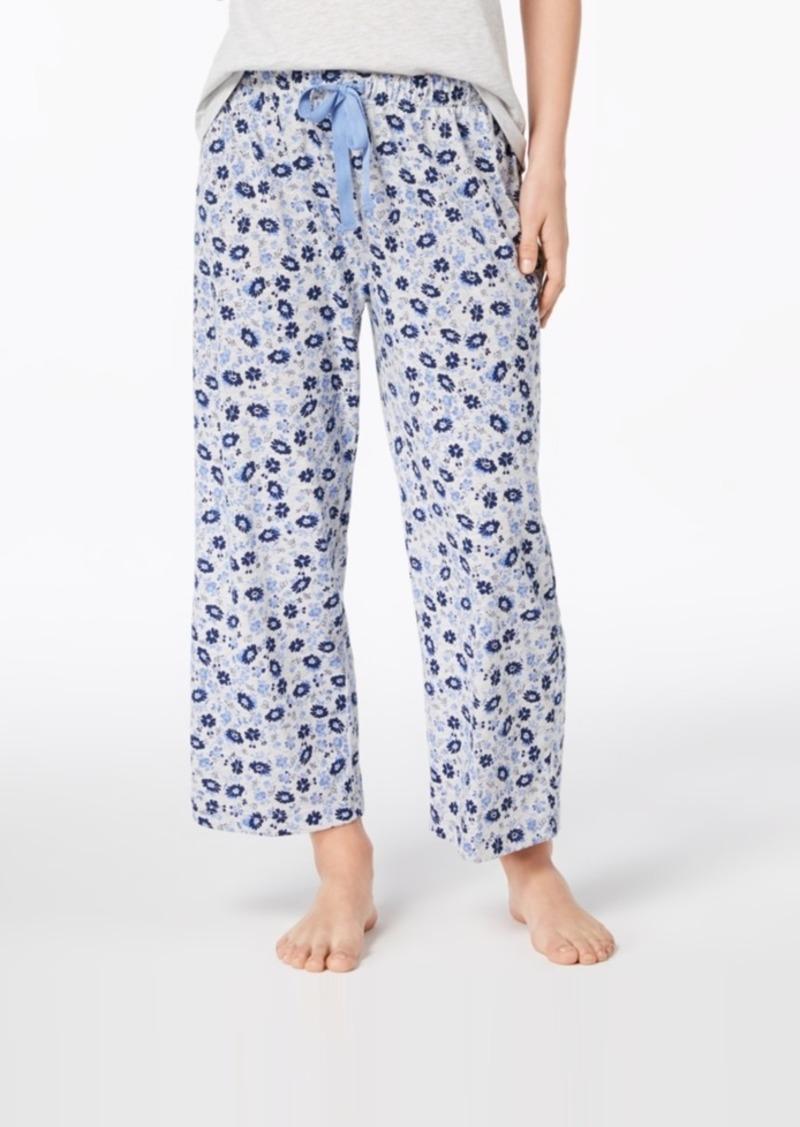 2b811a5691f0 Charter Club Charter Club Knit Print Pajama Pants, Created for ...