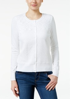 Charter Club Lace Cardigan, Only at Macy's