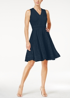Charter Club Lace Fit & Flare Dress, Created for Macy's
