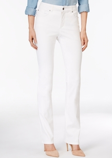 Charter Club Lexington Colored Wash Straight-Leg Jeans, Only at Macy's