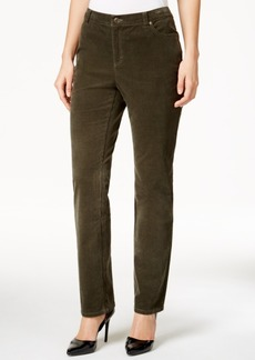 Charter Club Lexington Corduroy Straight-Leg Pants, Only at Macy's