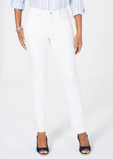Charter Club Lexington Tummy Control Straight-Leg Jeans, Created for Macy's