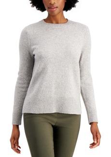 Charter Club Long-Sleeve Crewneck Sweater, Created for Macy's