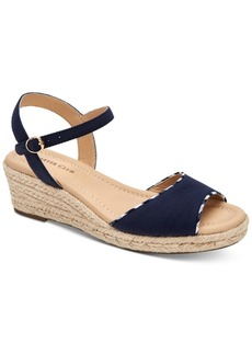 Charter Club Luchia Platform Wedge Sandals, Created for Macy's Women's Shoes