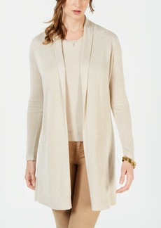 Charter Club Petite Lurex Sweater Duster, Created for Macy's