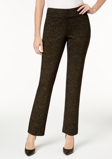 Charter Club Metallic Ponte-Knit Pants, Created for Macy's