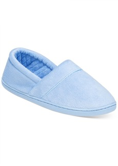 Charter Club Microvelour Memory Foam Slippers, Only at Macy's