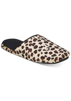 Charter Club Microvelour Scuff Memory Foam Slippers, Only at Macy's