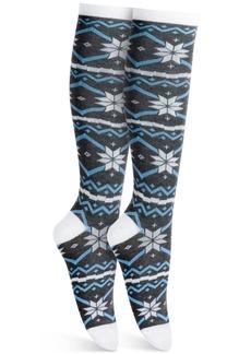 Charter Club Nordic Stripe Knee-High Socks, Created For Macy's