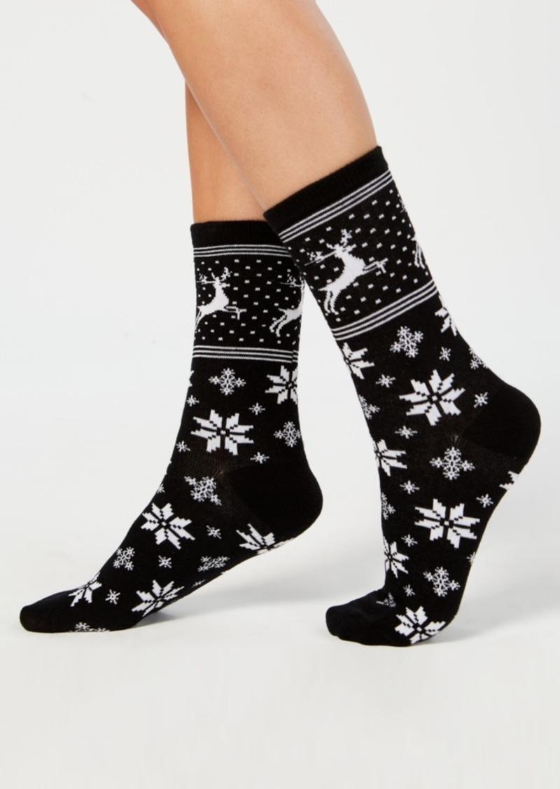 Charter Club Norwegian Reindeer Socks, Created for Macy's
