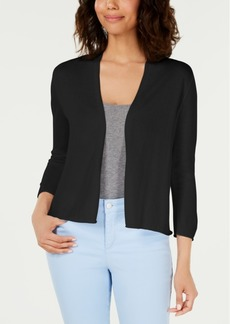 Charter Club Open-Front Bolero Cardigan, Created for Macy's
