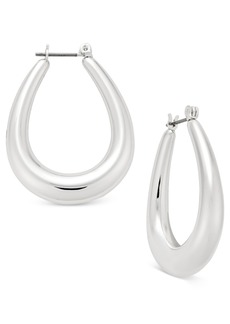 Charter Club Oval Hoop Earrings