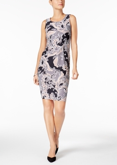 Charter Club Paisley-Print Sheath Dress, Created for Macy's