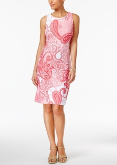 Charter Club Paisley-Print Shift Dress, Created for Macy's