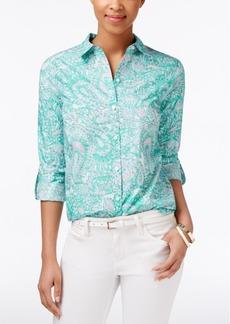 Charter Club Paisley-Print Shirt, Only at Macy's