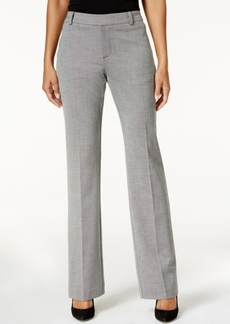 Charter Club Patterned Flare-Leg Trousers, Only at Macy's
