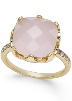 Charter Club Pave & Pink Stone Ring, Created for Macy's
