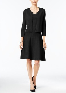 Charter Club Petite Bolero & Fit & Flare Dress Set, Only at Macy's