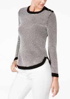 Charter Club Petite Colorblocked Sweater, Created for Macy's