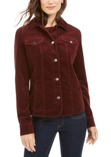 Charter Club Petite Corduroy Jacket, Created for Macy's