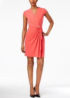 Charter Club Petite Crossover Dress, Only at Macy's