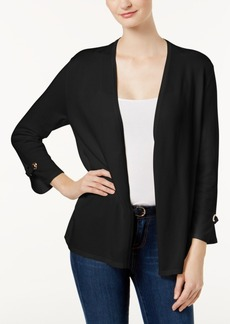 Charter Club Petite Embellished Cardigan, Created for Macy's