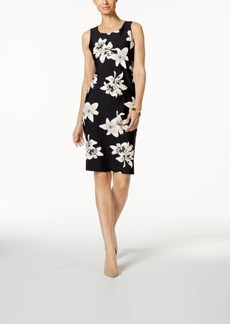 Charter Club Petite Floral-Print Sheath Dress, Created for Macy's