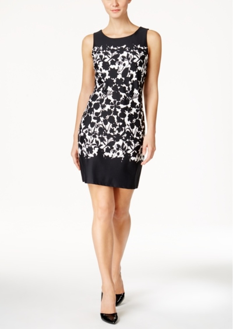 Charter Club Petite Floral-Print Shift Dress, Only at Macy's
